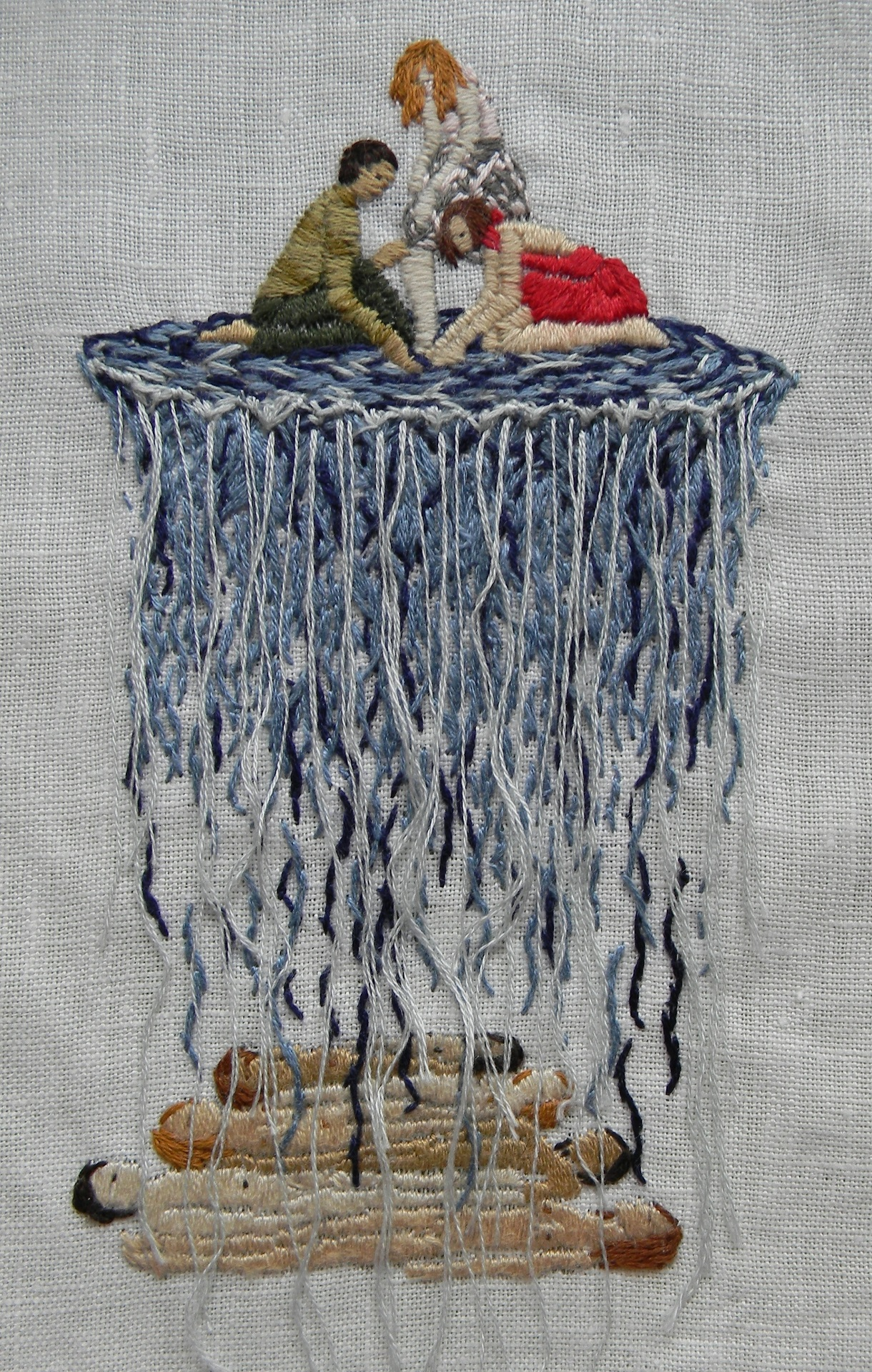 Michelle kingdom embroidery artist los angeles california